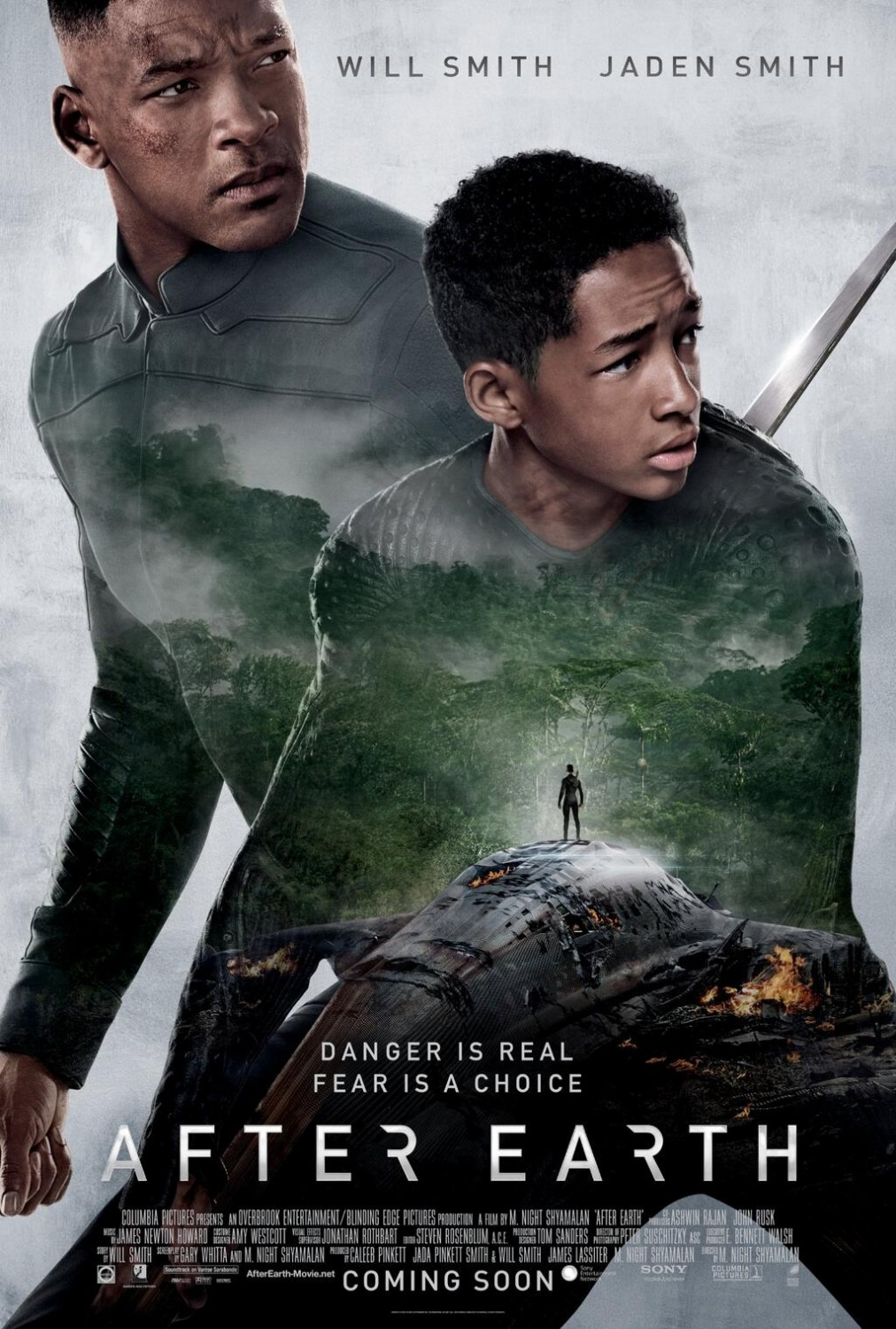 after earth poster M. Night Shyamalan After Earth Movie Review