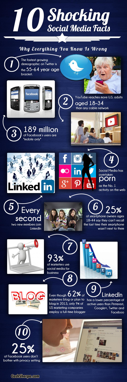 Social Media Facts 2013