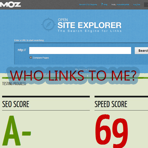 Who Links To My Site