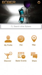 Byber App Screen 2