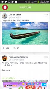 Kwickfeed App Screenshot