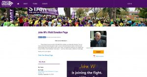 John W Walk Donation Page