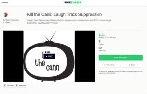 Kickstarter laugh