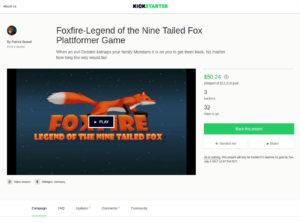 Foxfire Legend Game