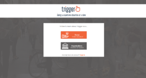TriggerGive Home Page