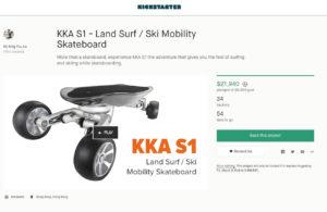 Kickstarter Board KKA S1