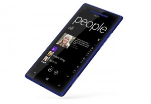 HTC 8x Windows Phone Side