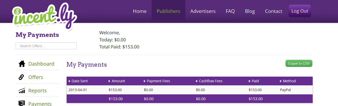 Incent.ly Payment Proof Image