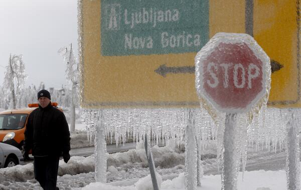 Slovenia, Ice Storm