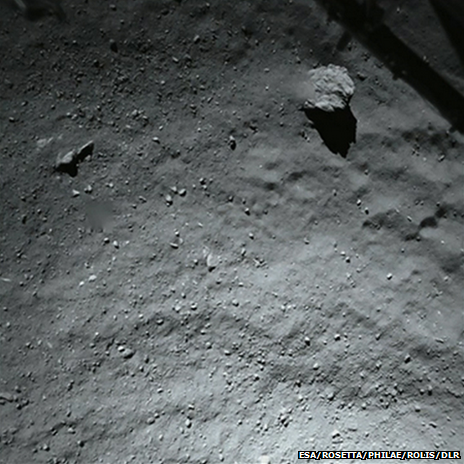 40m From Comet Surface
