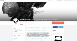 Patreon 3D Models