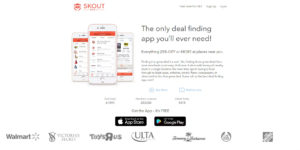 Skout Deals Mobile App