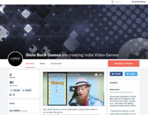 Stein Bock Games