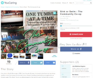 YouCaring Crowd Fund Campaign