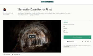 Beneath Cave Horror Film