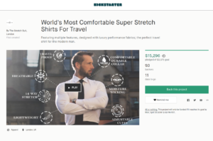 Travel Shirts Kickstarter
