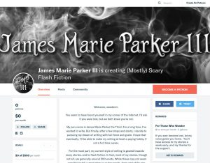 James Marie Parker III Patreon