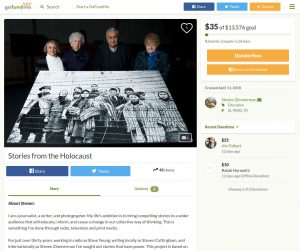 Stories From Holocaust GoFundMe