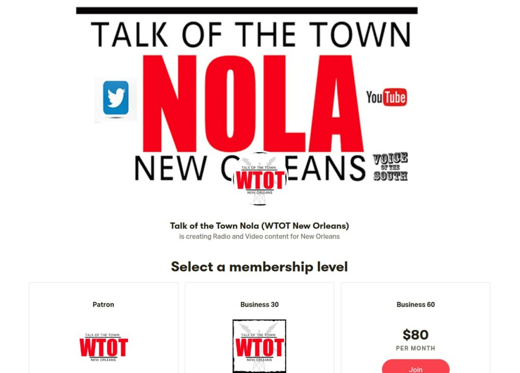 NOLA Talk Of The Town